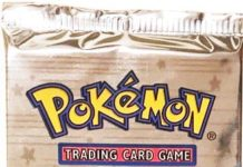 Pokemon 1st Edition Neo Genesis Lugia Artwork Booster Pack