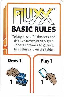 Basic Rules Card Fluxx