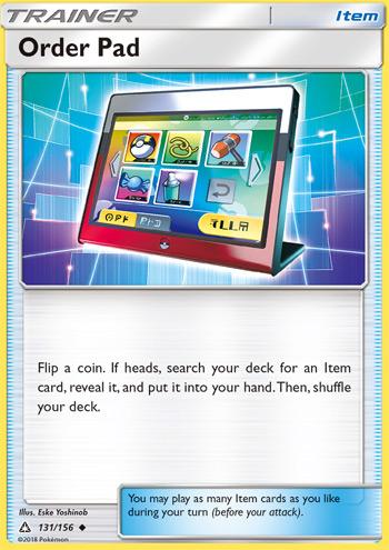 Order Pad - Ultra Prism