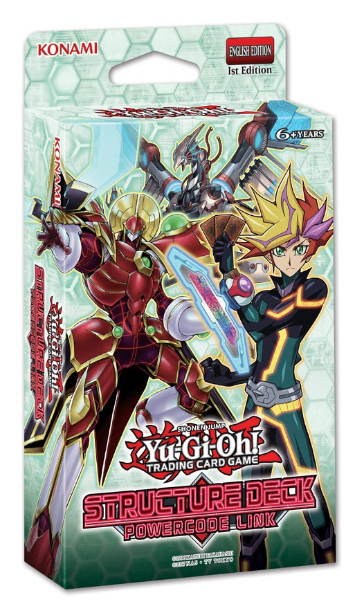 Yu-Gi-Oh! Structure Deck: Powercode Link