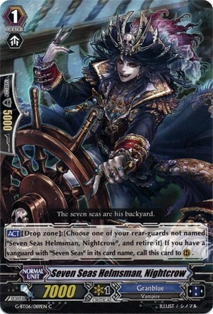 Seven Seas Helmsman, Nightcrow