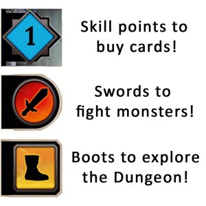Clank Card Symbols