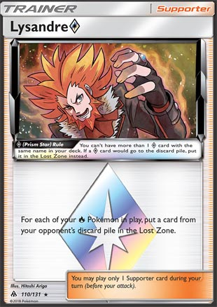 Lysandre Prism Star - Forbidden Light