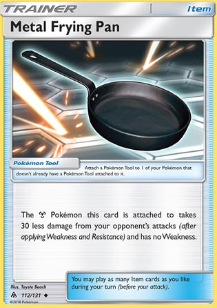 Metal Frying Pan