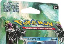 Sun and Moon Celestial Storm Swampert Deck