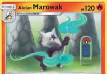 Alolan Marowak - Forbidden Light