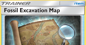 Fossil Excavation Map