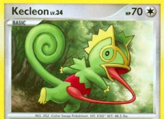 Kecleon - Rising Rivals