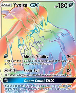 Yveltal-GX - Forbidden Light