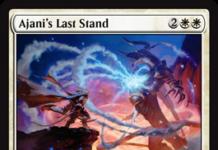 Ajani's Last Stand