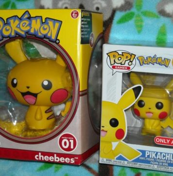 Pikachu Funko Pop and Cheebees