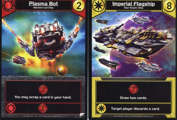 Star Realms Ship Cards
