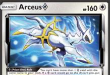 Arceus Prism Star - SM Forbidden Light