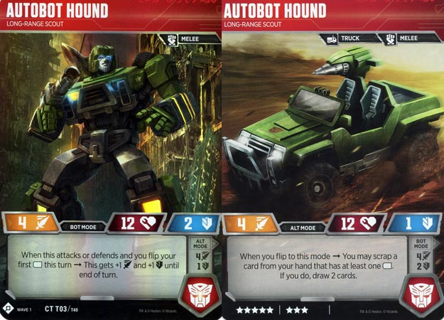 Transformers TCG Character Cards Wave 1 choose from list Trading Card Game