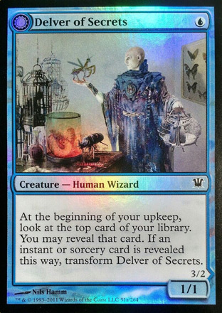 Delver of Secrets Original