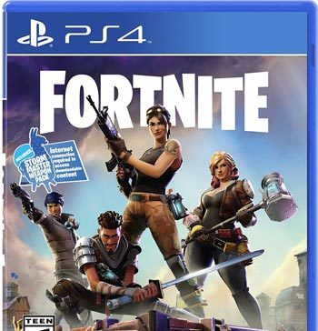 Fortnite Save the World PS4 Box