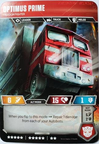 Optimus Prime Alt Mode