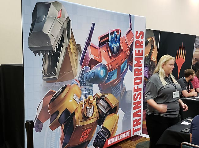 Transformers TCG Demo Area at Gen Con