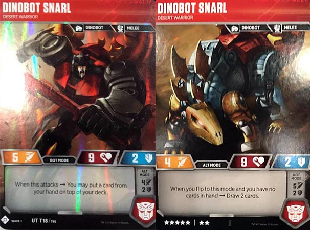TCG Wave 1 Transformers: Trading Card Game - Dinobot Slug