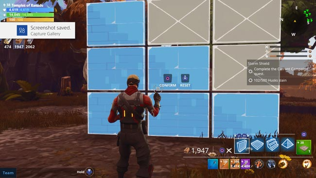 Fortnite Angled Walls