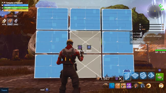 Fortnite Wall with Door