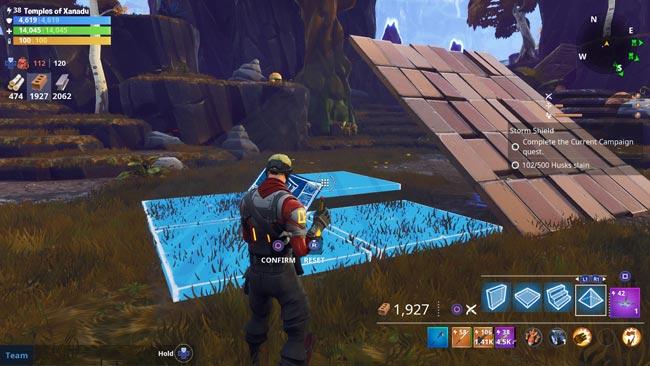 Fortnite Pyramid Corner Schematic
