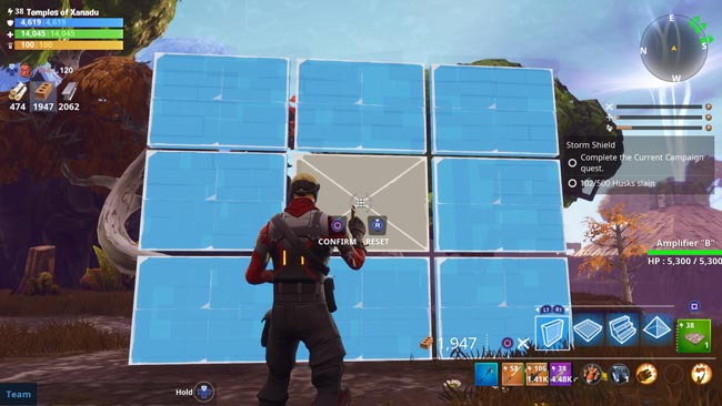 Fortnite Wall With Window