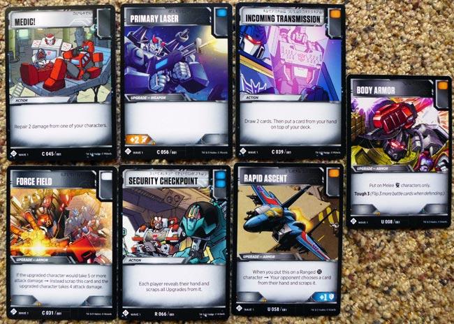 7 Battle Cards