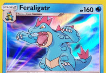 Feraligatr SM DRAGON MAJESTY