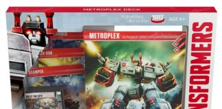 Metroplex Deck for Transformers Trading Card Game