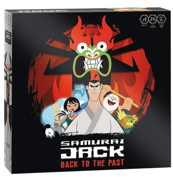 Samurai Jack Back To The Past Strategy Board Game
