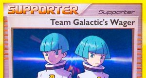 Team Galactic's Wager (Mysterious Treasures)