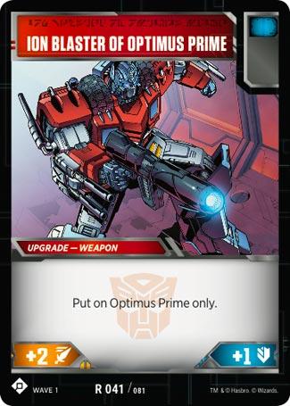 Transformers TCG-Wave 1 ONE i still fonction R 037//081