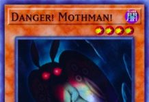 Danger! Mothman!