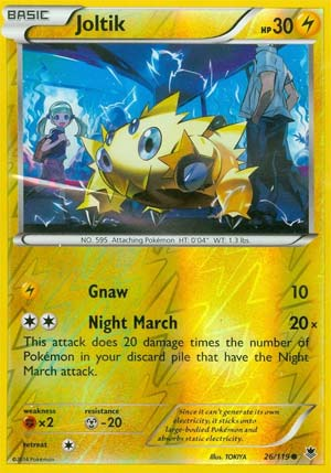 Joltik night march