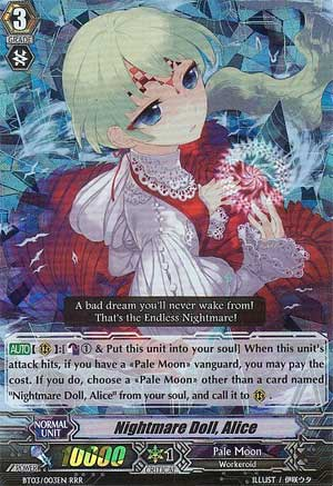 Nightmare Doll, Alice  - #BT03/003