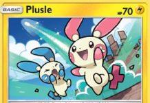 Plusle - Celestial Storm