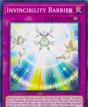 Invincibility Barrier