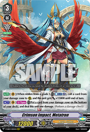 Crimson Impact, Metatron (V Series)