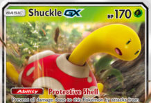 Shuckle-GX (Lost Thunder LOT 17)