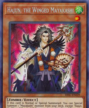 Hajun, the Winged Mayakashi
