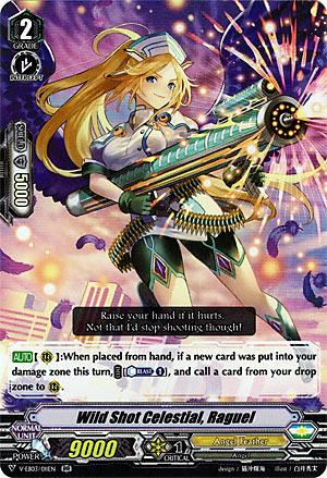 Wild Shot Celestial, Raguel (V Series)