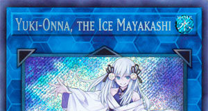 Yuki-Onna, the Ice Mayakashi