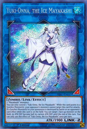 Yuki-Onna, the Ice Mayakashi