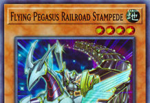 Flying Pegasus Railroad Stampede