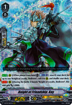 Knight of Friendship, Kay (V Series)