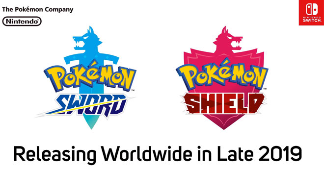 Pokémon Sword and Shield Logos