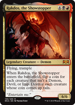 Rakdos, the Showstopper