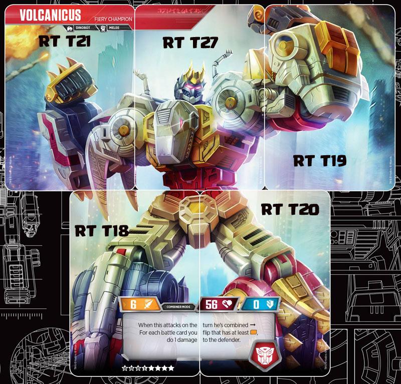 SPIKED BATTLER Transformers TCG 1X DINOBOT SNARL RT T20//T46 Rare 2019