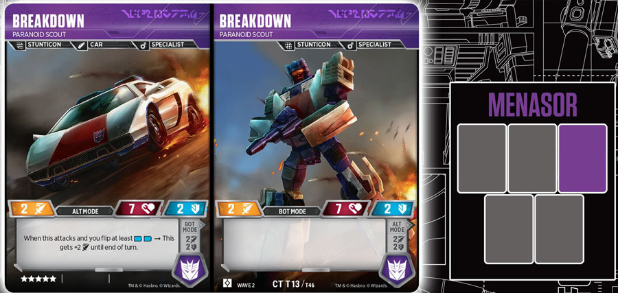 Transformers TCG Rise of the Combiners Card List - Wave 2 Characters